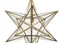CST-2639-Star-Pendant-30-In-Brass-and-Clear-Glass