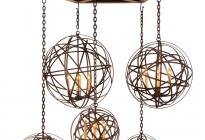 Sphere-cluster-Chandelier
